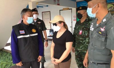 police, Mother,Thailand
