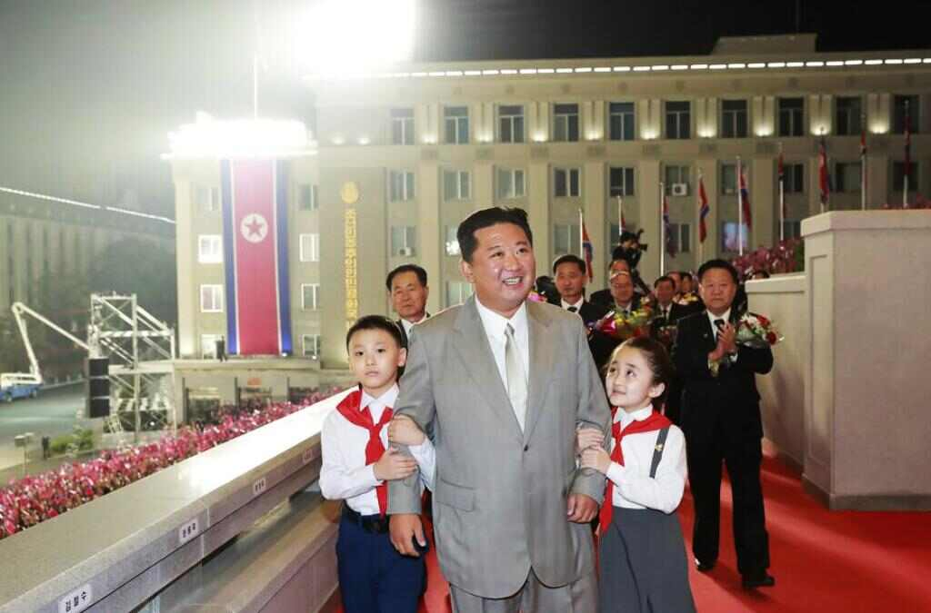 North Korean Leader Kim Takes Center Stage After Weight Loss
