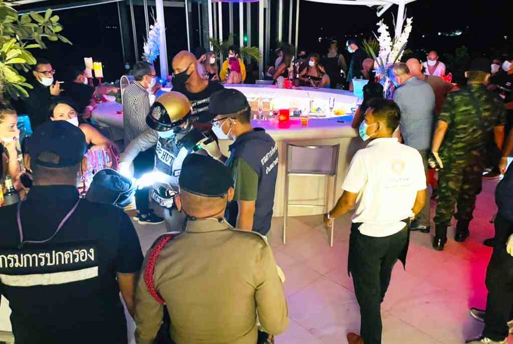 Police Raid Birthday Party in Koh Samui 27 Foreigners Arrested