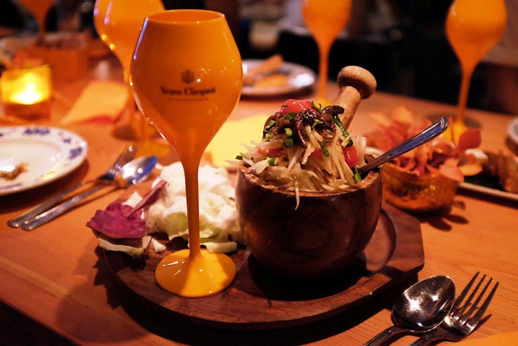 Thai Food and Champagne: A Perfect Combo