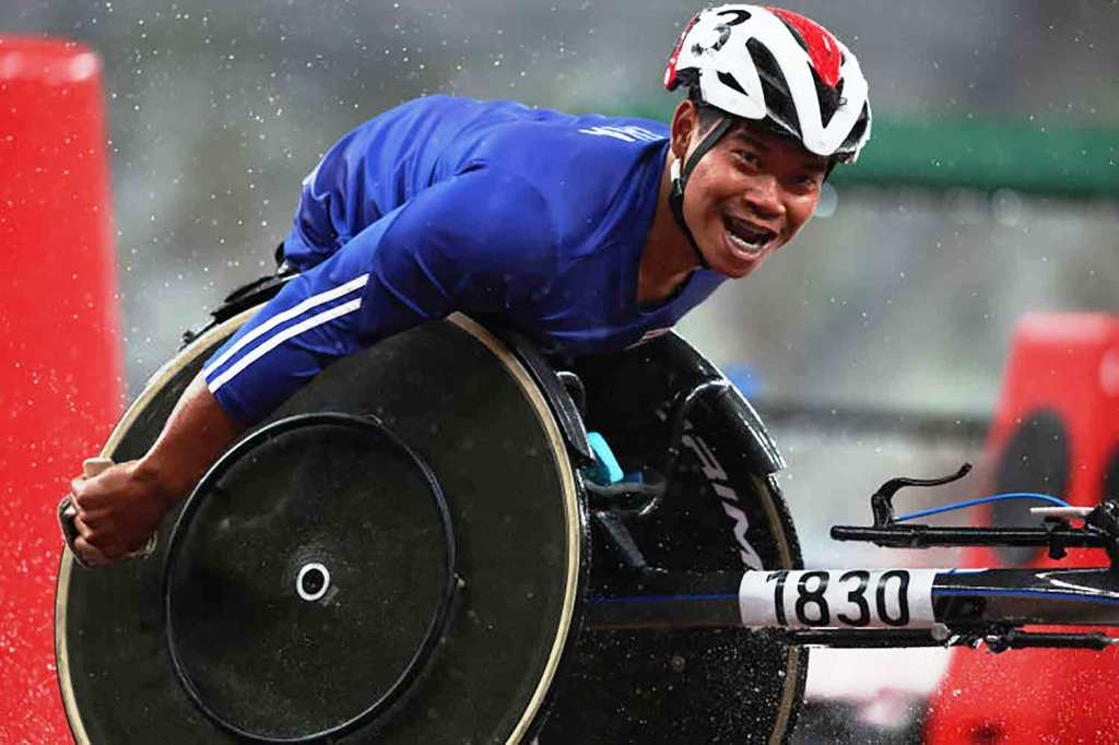gold, Thailand, Gold Metal, MetalWin's Third Gold Metal at Paralympic Games