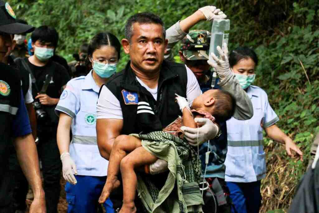 Toddler Kidnapped for Human Sacrifice Found in Northern Thailand