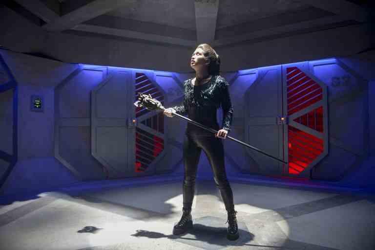 Reina Hardesty as Joss/Weather Witch in The Flash season 5