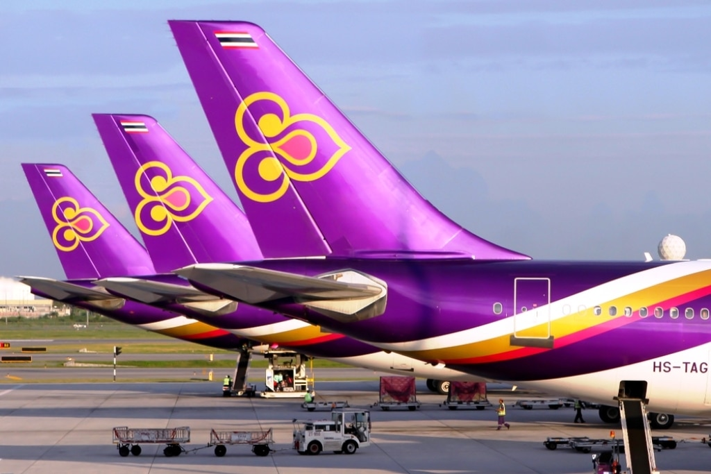 Cash Strapped Thai Airways Sells Off More of its Aircraft