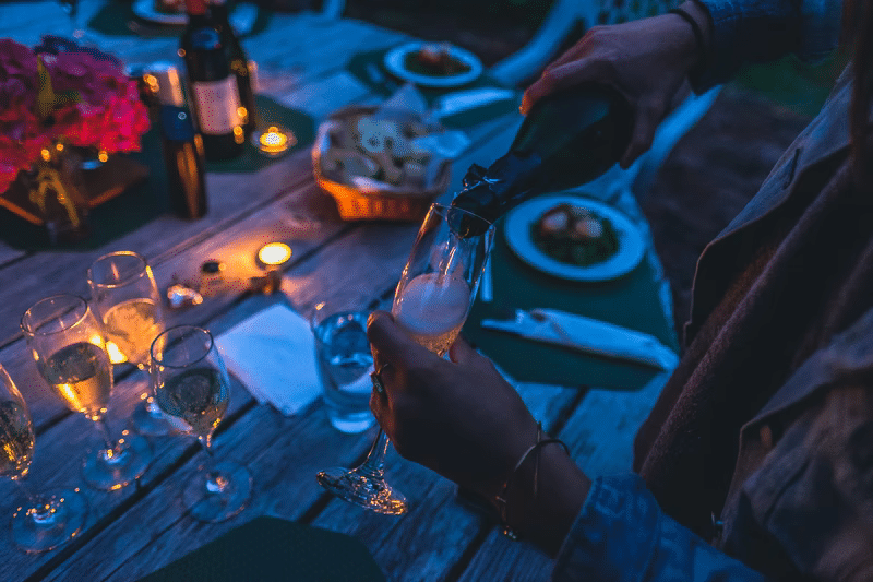 Thai cuisine and champagne: a perfect combo