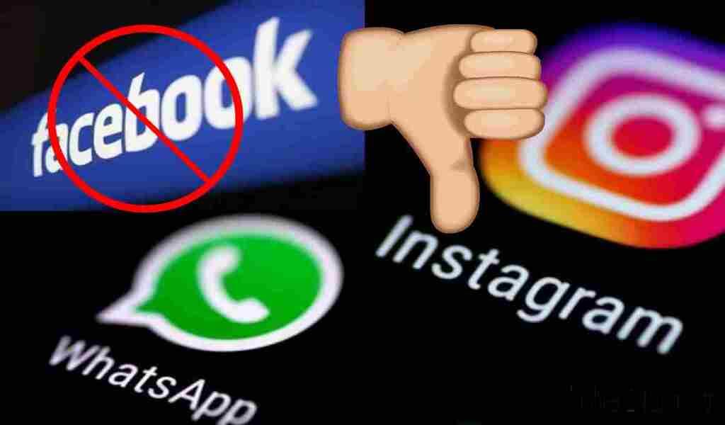 Facebook-Instagram- WhatsApp