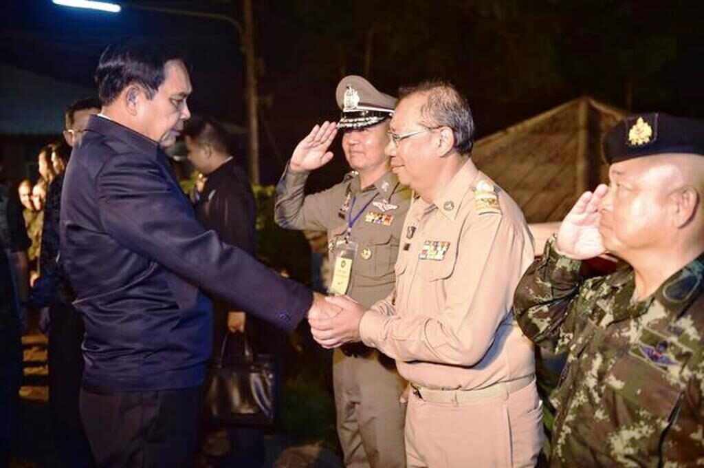 Thailand-chiang Rai-wild boars-governor